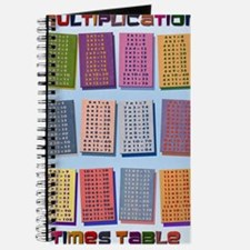 2-Times Tables _small poster Journal