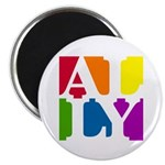 "Ally Pop 2.25"" Magnet (100 pack)"
