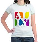 Ally Pop Jr. Ringer T-Shirt