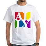 Ally Pop White T-Shirt