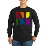 Ally Pop Long Sleeve Dark T-Shirt