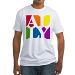 Ally Pop Fitted T-Shirt