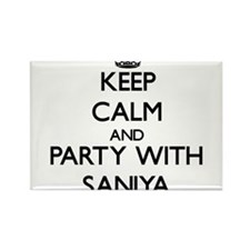 Keep Calm and Party with Saniya Magnets