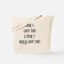 2-good mael black round Tote Bag