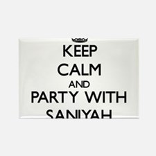 Keep Calm and Party with Saniyah Magnets