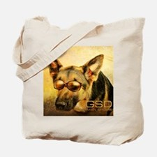 GSD_glasses-8x10 Tote Bag