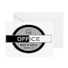 The Office Bar  Grill, Burbank, CA E Greeting Card