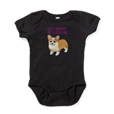 Sister is a Corgi Baby Bodysuit