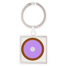 Capricorn Pisces Cancer Square Keychain