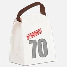 officially_70 Canvas Lunch Bag