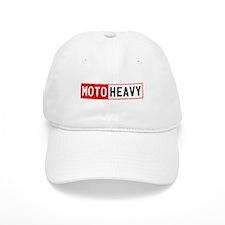 White MOTOHEAVY.Com Ballcap