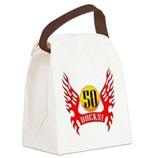 wings50 Canvas Lunch Bag