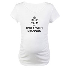 Keep Calm and Party with Shannon Shirt