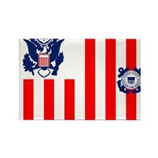 USCG-Flag-Ensign Rectangle Magnet
