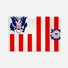 USCG-Flag-Ensign Rectangle Magnet