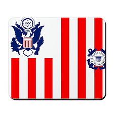 USCG-Flag-Ensign Mousepad