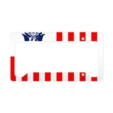 USCG-Flag-Ensign-Outlined License Plate Holder