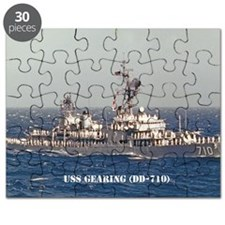 gearing large framed print Puzzle