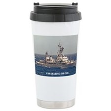 gearing large framed print Travel Mug