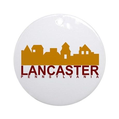 Lancaster Pennsylvania Ornament (Round)
