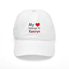 My heart belongs to kamryn Baseball Cap