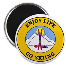 skiing3 Magnet