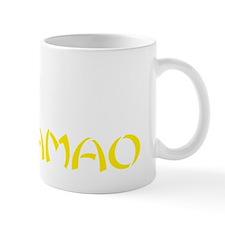 obamao red shirt Mug