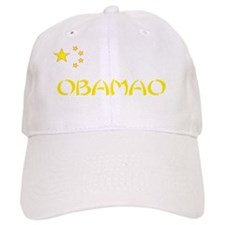 obamao red shirt Baseball Cap