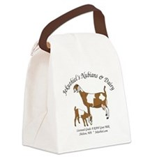 NubianDoeKidDairy Canvas Lunch Bag