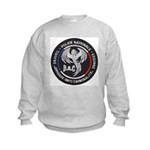 French Anti Crime Brigade Kids Sweatshirt