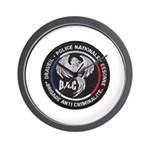 French Anti Crime Brigade Wall Clock