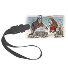 2-ALICE _Through the Looking Gla Luggage Tag