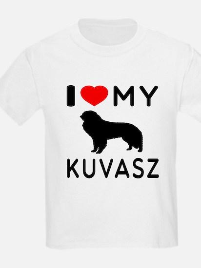 I Love My Dog Kuvasz T-Shirt