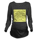 10.png Long Sleeve Maternity T-Shirt