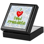 Dead Presidents Keepsake Box