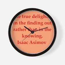 asimov11.png Wall Clock