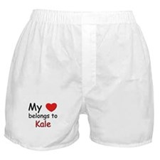 My heart belongs to kale Boxer Shorts