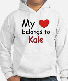 My heart belongs to kale Hoodie
