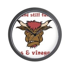 vinegar_75 Wall Clock