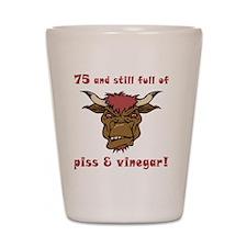 vinegar_75 Shot Glass