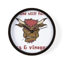vinegar_60 Wall Clock