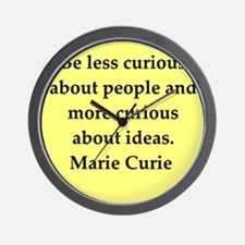 curie5.png Wall Clock
