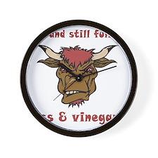 vinegar_30 Wall Clock