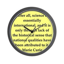 curie8.png Wall Clock