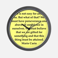 curie11.png Wall Clock