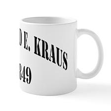 rekraus black letters Mug