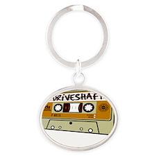 DS10x10Dark Oval Keychain