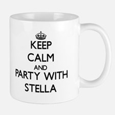 Keep Calm and Party with Stella Mugs