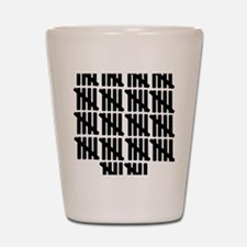 line_ninety Shot Glass