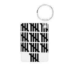 line_fifty Keychains